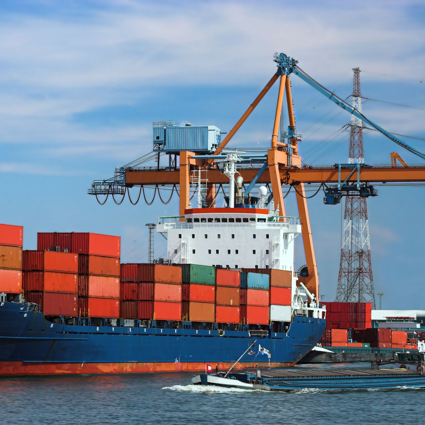 Sea transportation | Services | Transcaspian Logistics
