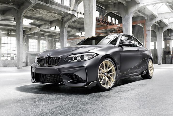 WORLD PREMIERE OF THE BMW M PERFORMANCE ACCESSORIES CONCEPT